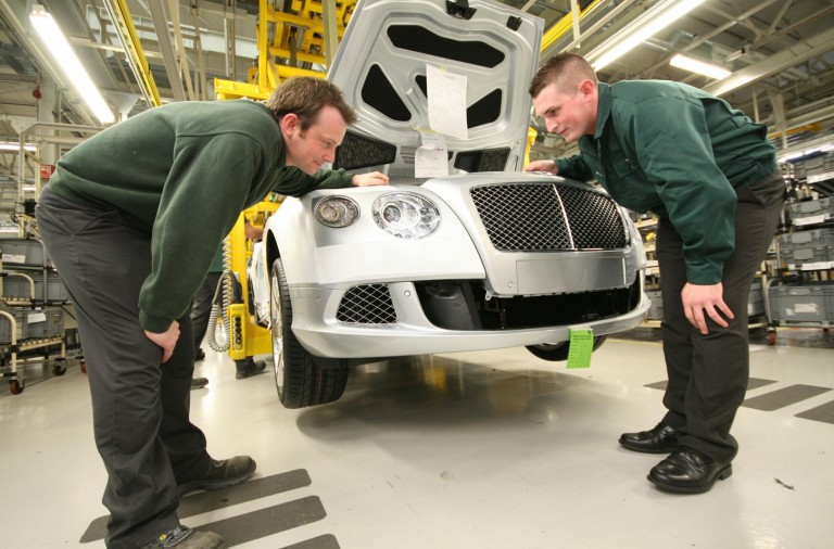Bentley apprentices