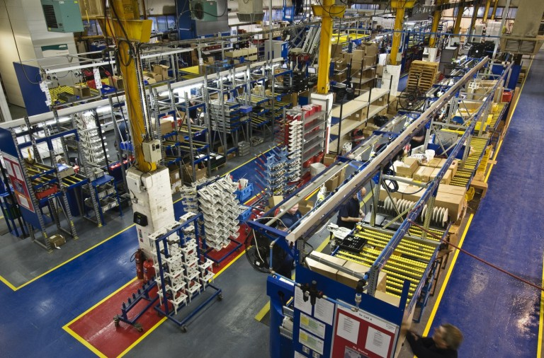 Stannah factory Andover_inside