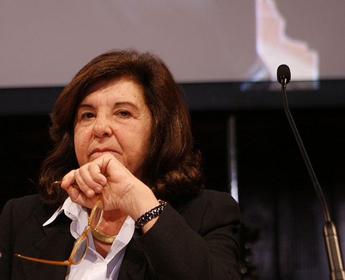 The Italian Minister of Justice Paola Severino - Photo courtesy of International Journalism Festival