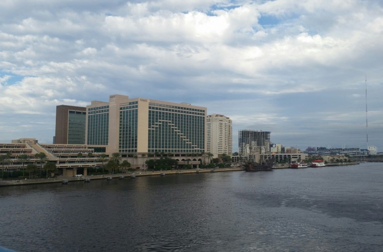 The Hyatt Regency Jax