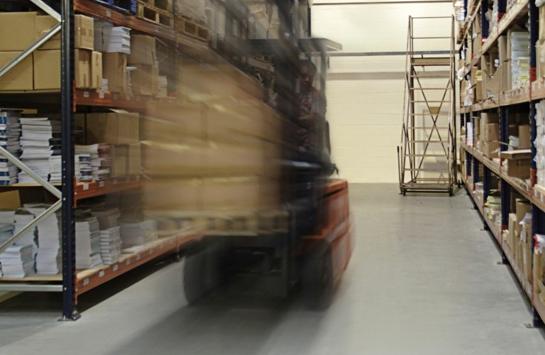 Safety in the warehouse is of paramount importance - image courtesy of Kate Luke