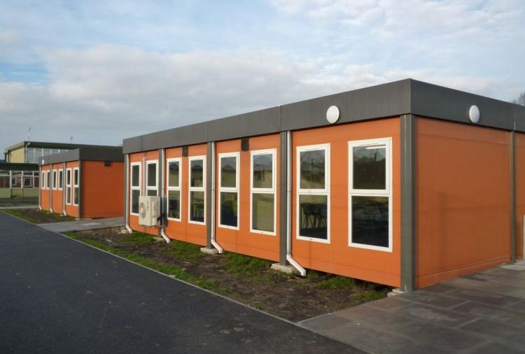 An example of a modular classroom