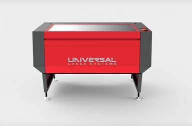 A Universal Laser Systems laser processing machine - image courtesy of Universal Laser Systems