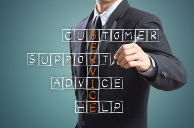It is the role of a business owner or manager to improve the customer service experience at every opportunity - image courtesy of APS
